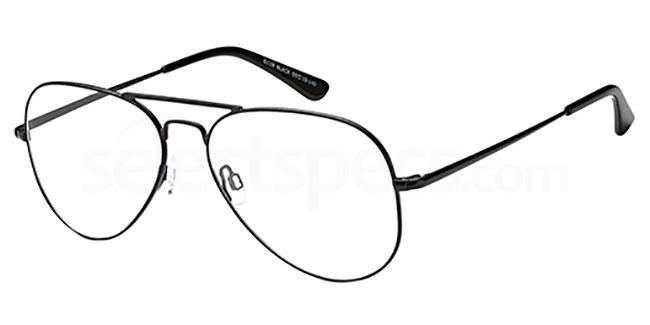 Black D119 Glasses, Brooklyn