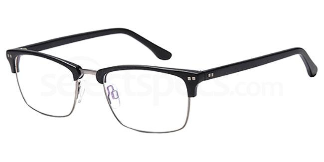 Black D120 Glasses, Brooklyn