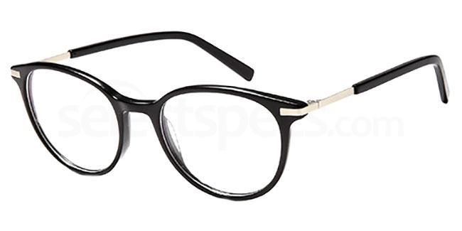 Black D122 Glasses, Brooklyn