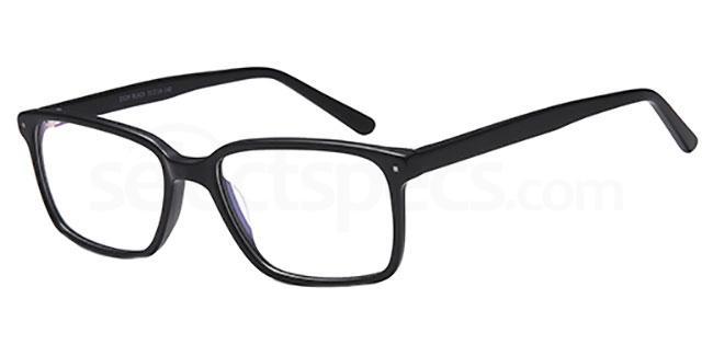 Black D124 Glasses, Brooklyn
