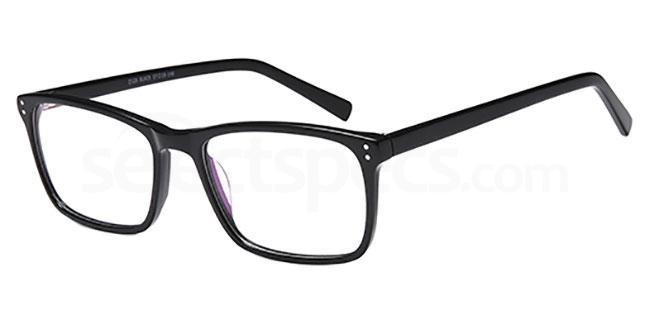 Black D126 Glasses, Brooklyn