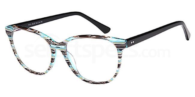 Blue D131 Glasses, Brooklyn