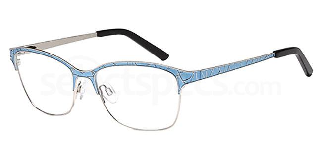 Blue D135 Glasses, Brooklyn