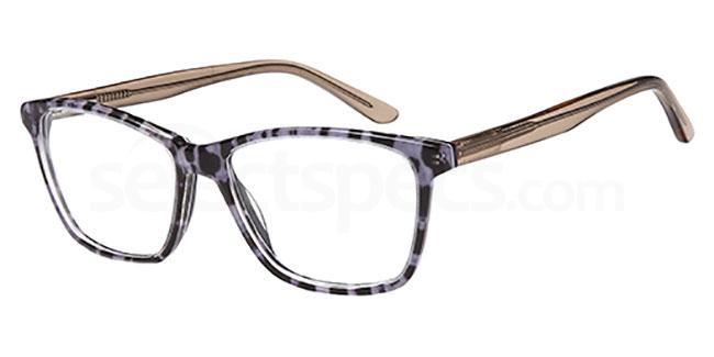 BLACK/BROWN MARBLE D137 Glasses, Brooklyn