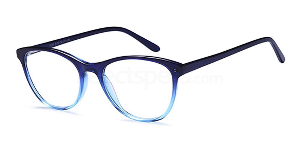 Blue D150 Glasses, Brooklyn