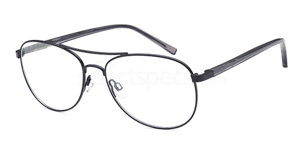 Black D159 Glasses, Brooklyn