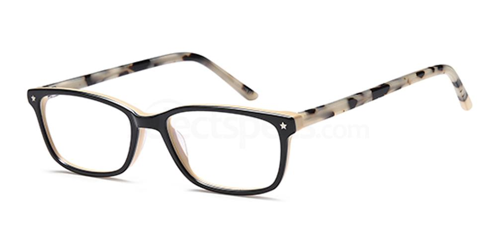 Black/Horn D169 Glasses, Brooklyn