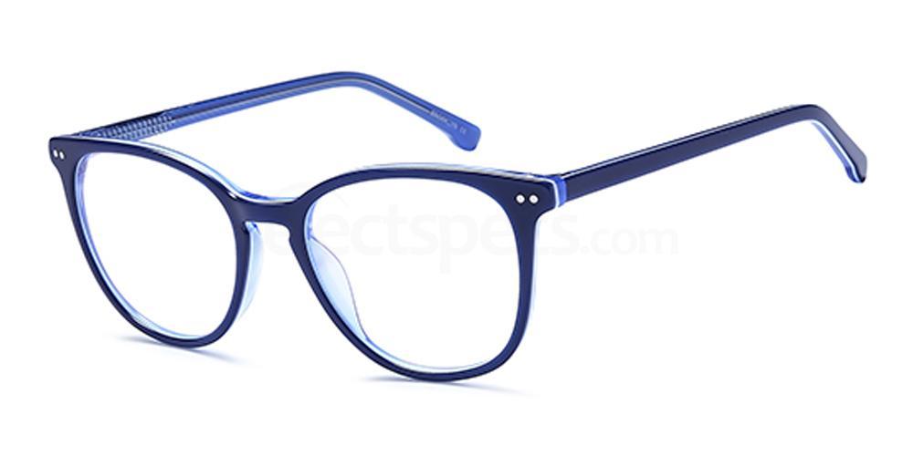 Blue D170 Glasses, Brooklyn