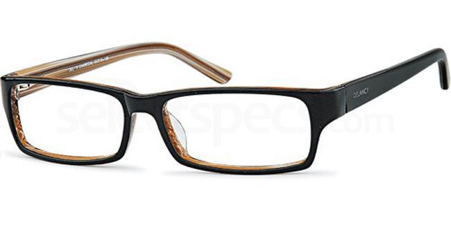 Charcoal DEL15 Glasses, Delancy