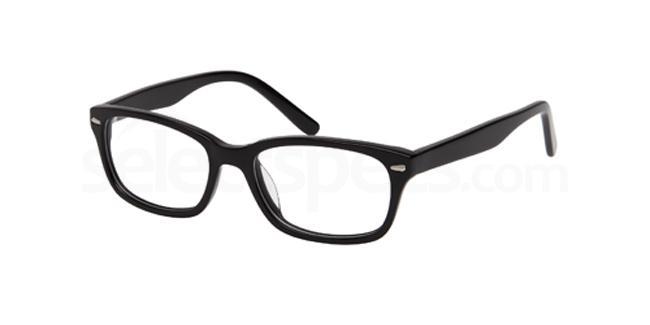 Black DEL40 Glasses, Delancy