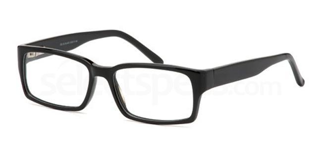 Black DEL50 Glasses, Delancy