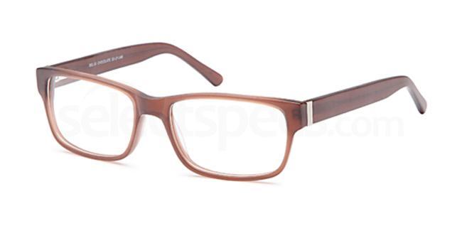 Chocolate DEL63 Glasses, Delancy