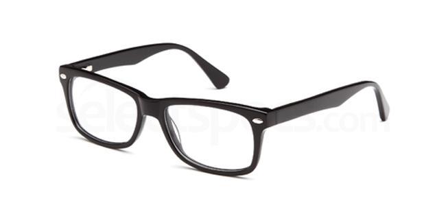 Black DEL70 Glasses, Delancy