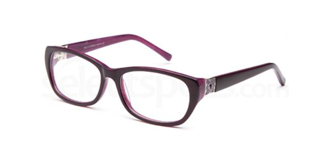 Purple DEL73 Glasses, Delancy