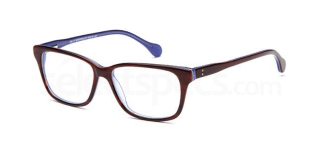 Brown/blue DEL77 Glasses, Delancy