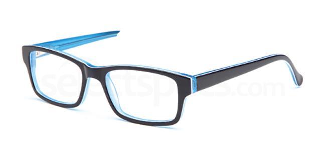 Blue DEL79 Glasses, Delancy