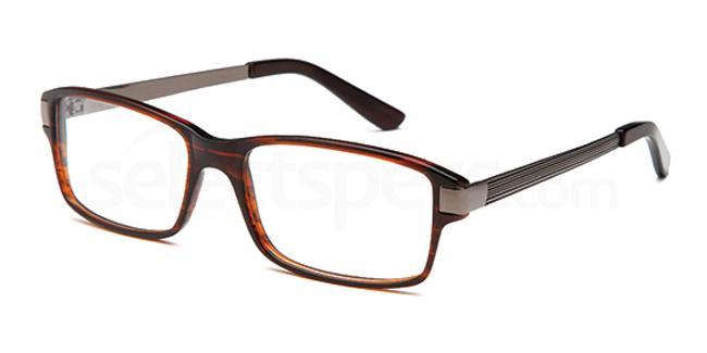 Brown DEL80 Glasses, Delancy