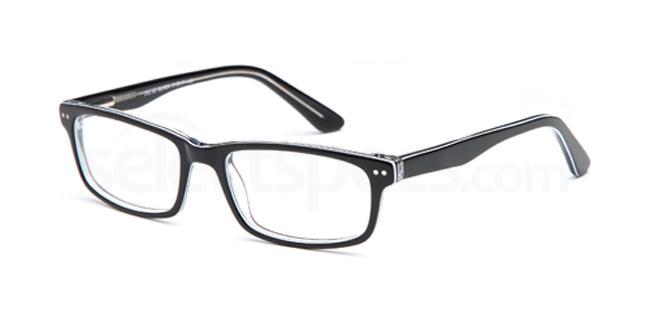 Black DEL82 Glasses, Delancy