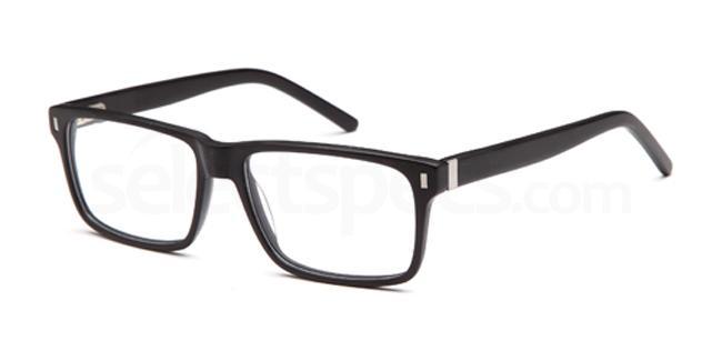 Matt Black DEL83 Glasses, Delancy