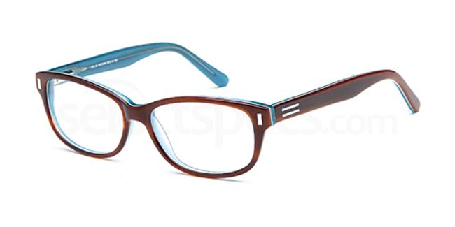 Brown DEL84 Glasses, Delancy