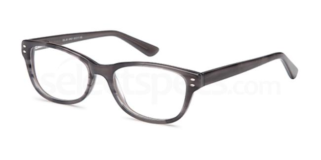 Grey DEL85 Glasses, Delancy