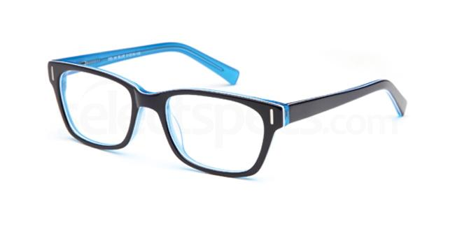 Blue DEL86 Glasses, Delancy