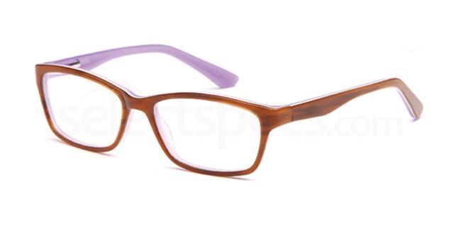 Brown/Purple DEL87 Glasses, Delancy