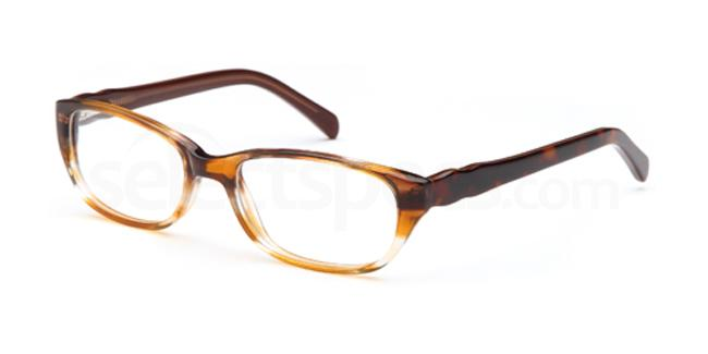 Brown DEL88 Glasses, Delancy