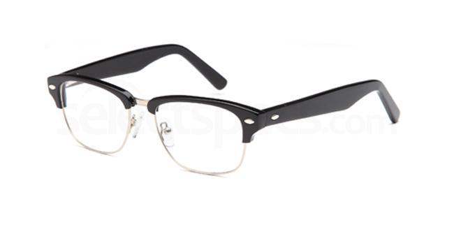 Black DEL91 Glasses, Delancy