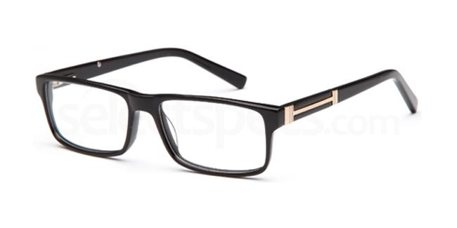 Black DEL93 Glasses, Delancy