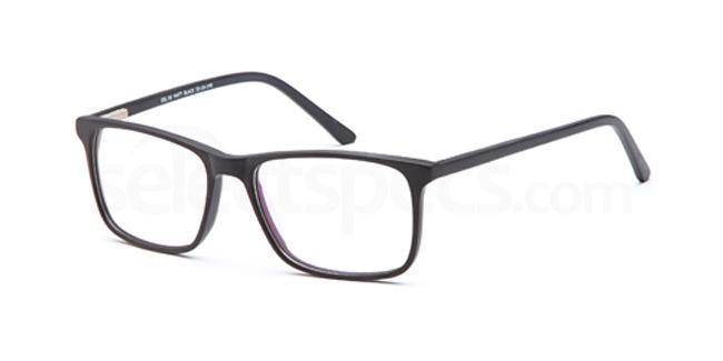 Matt Black DEL96 Glasses, Delancy