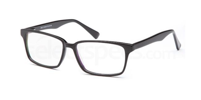 Black DEL97 Glasses, Delancy