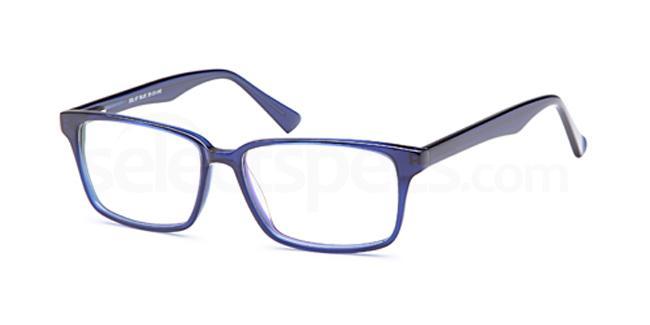 Blue DEL97 Glasses, Delancy