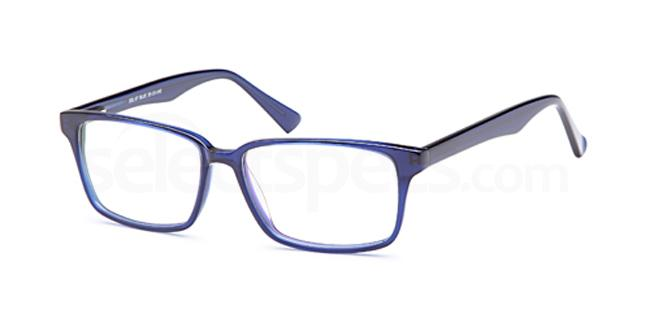 Blue DEL97 Glasses, Delancy