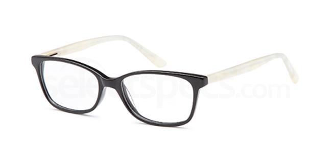 Black DEL98 Glasses, Delancy