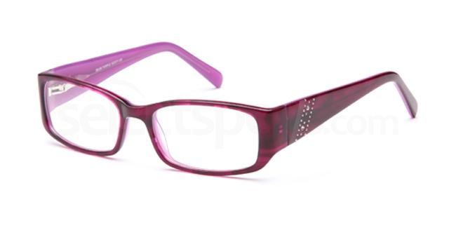 Purple DEL99 Glasses, Delancy