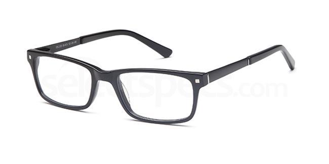 Black DEL103 Glasses, Delancy