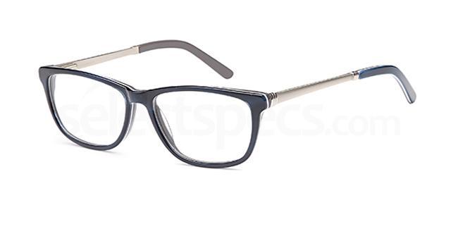 Blue DEL104 Glasses, Delancy
