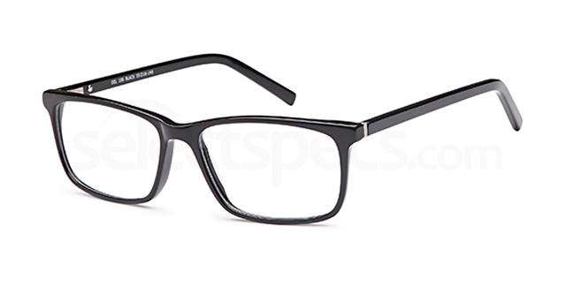 Black DEL106 Glasses, Delancy