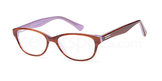 Brown DEL108 Glasses, Delancy
