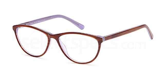 Brown DEL109 Glasses, Delancy