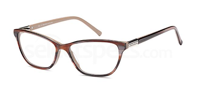 Brown DEL110 Glasses, Delancy