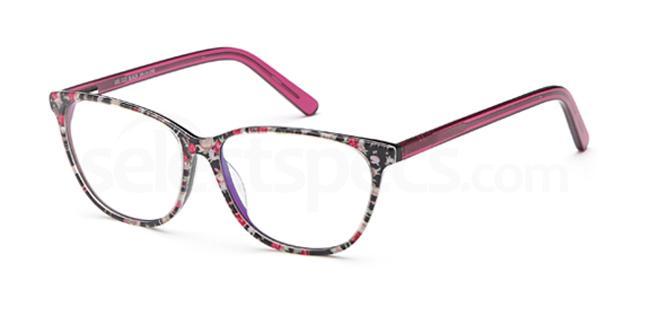 Black DEL113 Glasses, Delancy