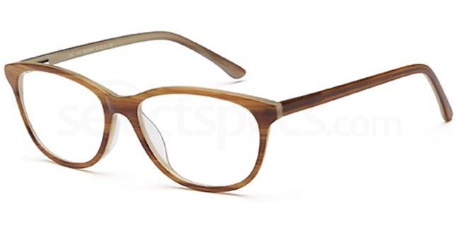 Brown DEL114 Glasses, Delancy