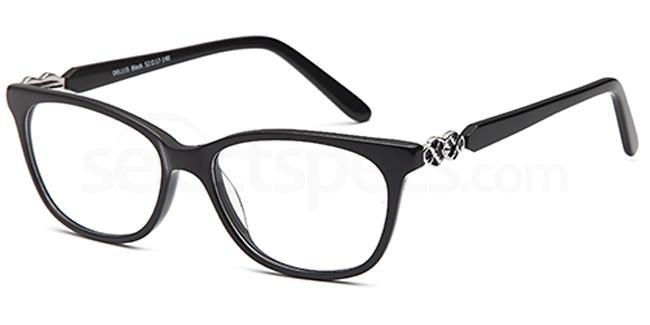 Black DEL115 Glasses, Delancy