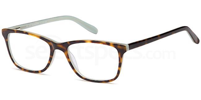 Havana/Purple DEL119 Glasses, Delancy