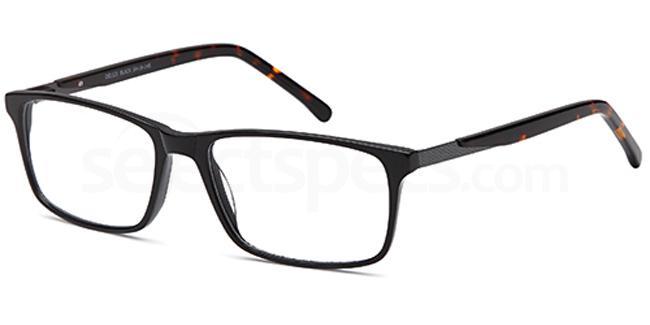 Black DEL121 Glasses, Delancy