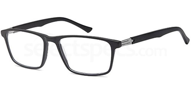 Black DEL122 Glasses, Delancy
