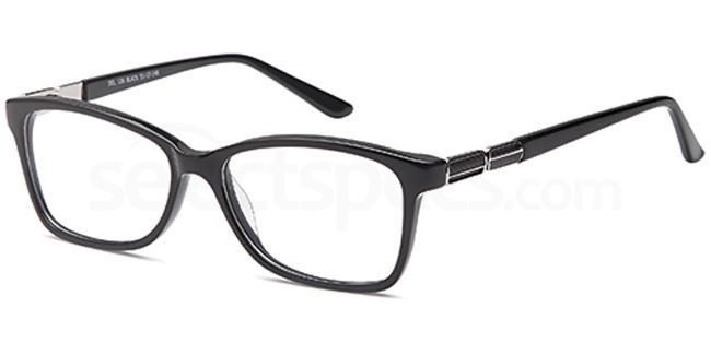 Black DEL126 Glasses, Delancy