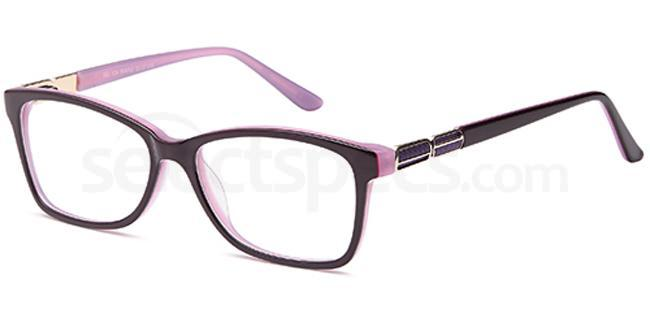 Purple DEL126 Glasses, Delancy